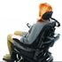 Invacare Matrx Elan Headrests - standard pad in situ / use on wheelchair