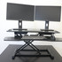 Compact Dual Montior Standing Desk