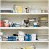 BetterLiving Crockery Shelf Mural
