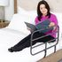 Able Life Bedside Extend-A-Rail - in use on a bed, extended