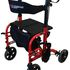 Redgum Crossover Transit Chair / Walker - shown set up for use as a walking aid
