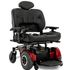 Pride Jazzy 1450 - red frame, with heavy duty seat