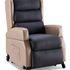 Neutral position, armrests in situ.